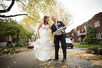 The wedding of Daniel and Melissa in Montreal, Canada on November 3rd, 2013.