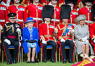 Queen, Charles, Camilla Welsh Guards,  Windsor Castle