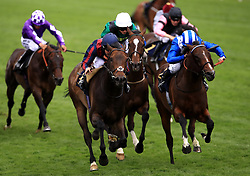 The Tin Man ridden by jockey Tom Queally (front left) wins the Diamond Jubilee Stakes during day five of Royal Ascot at Ascot Racecourse.