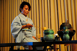 Rituals of the tea ceremony are followed to the letter at the 2012 Obon Festival at the Buddhist Temple of Salinas.