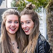 NLD/Laren/20180314 - Persochtend Utopia Boksgala, Demi en Fay Burgers