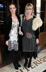 Leah Wood and daughter Jo arriving at a special screening of The Great Gatsby in London, Wednesday,15th May 2013.  Photo by: Stephen Lock / i-Images