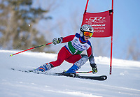 Piche Invitational GS girls U12 1st run.    ©2019 Karen Bobotas Photographer
