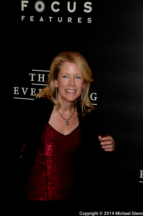 NYC, New York - October 20: Lisa Bruce on the red carpet for their new motion picture The Theory of Everything at Museum of Modern Art MOMA on October 20, 2014 in New York, New York. Photo Credit: Michael Glenn / Retna Ltd