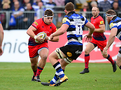 - Mandatory by-line: Dougie Allward/JMP - 07/10/2017 - RUGBY - Recreation Ground - Bath, England - Bath Rugby v Worcester Warriors - Aviva Premiership