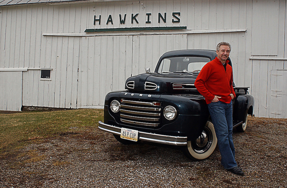 17344Rick Hawkins: Portrait at Baltimore Ohio Family Farm: Photos by Megan Nadolski