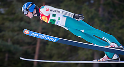 14.12.2013, Nordische Arena, Ramsau, AUT, FIS Nordische Kombination Weltcup, Skisprung, Wettkampfdurchgang, im Bild Tino Edelmann (GER) // Tino Edelmann (GER) during Ski Jumping of FIS Nordic Combined World Cup, at the Nordic Arena in Ramsau, Austria on 2013/12/14. EXPA Pictures © 2013, EXPA/ JFK