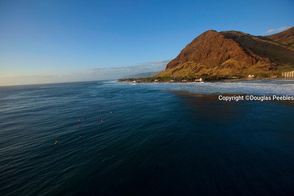 Makaha beach, Leeward, Oahu, Hawaii