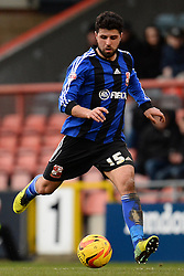 Swindon's Yaser Kasim  - Photo mandatory by-line: Mitchell Gunn/JMP - Tel: Mobile: 07966 386802 22/02/2014 - SPORT - FOOTBALL - Brisbane Road - Leyton - Leyton Orient V Swindon Town - League One