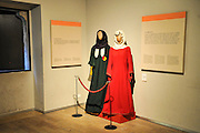 Girona, the Catalan Jewish Museum, Catalonia, Spain Traditional clothes