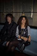 Ian Brown and Fabiola Brown, Dom Perignon and Claudia Schiffer host a celebration of Dom Perignon Oenotheque 1995. The Landau, Portland Place. London W1. 26 February 2008.  *** Local Caption *** -DO NOT ARCHIVE-© Copyright Photograph by Dafydd Jones. 248 Clapham Rd. London SW9 0PZ. Tel 0207 820 0771. www.dafjones.com.