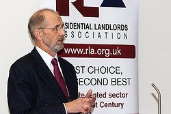 Portcullis House, Westminster, London, January 14th 2014. Members of the Residential Landlords Association attend the launch of their Policy Manifesto and hear views from MPs. PICTURED: Alan Ward
