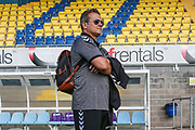 Forest Green Rovers manager, Mark Cooper during the Pre-Season Friendly match between Torquay United and Forest Green Rovers at Plainmoor, Torquay, England on 10 July 2018. Picture by Shane Healey.
