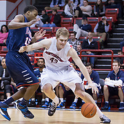 NCAA Men's Basketball: Northeastern Huskies vs. Richmond Spiders on December 31, 2013 at Matthews arena in Boston, MA