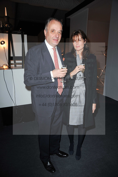 Private View of the Pavilion of Art & Design London 2010 held in Berkeley Square, London on 11th October 2010.<br /> Picture Shows:- INDIA-JANE BIRLEY and her husband SEBASTIAN WHITESTONE