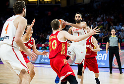 Juan Carlos Navarro of Spain during basketball match between National Teams  Spain and Russia at Day 18 in 3rd place match of the FIBA EuroBasket 2017 at Sinan Erdem Dome in Istanbul, Turkey on September 17, 2017. Photo by Vid Ponikvar / Sportida