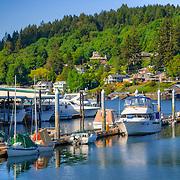 Boats in Gig Harbor, WA