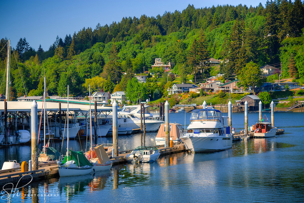 Boats in Gig Harbor, WA
