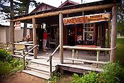 Country store in the Northwoods of Wisconsin