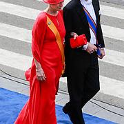 NLD/Amsterdam/20130430 - Inhuldiging Koning Willem - Alexander, prins Constantijn en prinses Laurentien