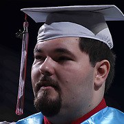 Conrad Schools of Science graduate Derek Bischoff participates Conrad commencement exercises Saturday, June 06, 2015, at The Bob Carpenter Sports Convocation Center in Newark, Delaware.