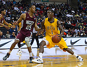 2012 MEAC Basketball Tournament MBBall Bethune beats NC Centrall 60 - 59