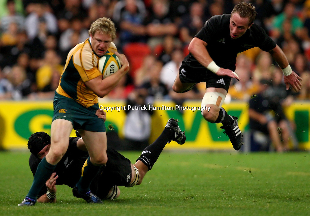 Peter Hynes.All Blacks v Australia Tri Nations Rugby Union Test Match. Suncorp Stadium ,Brisbane. Australia,Saturday 13 September 2008 . Photo: PHOTOSPORT
