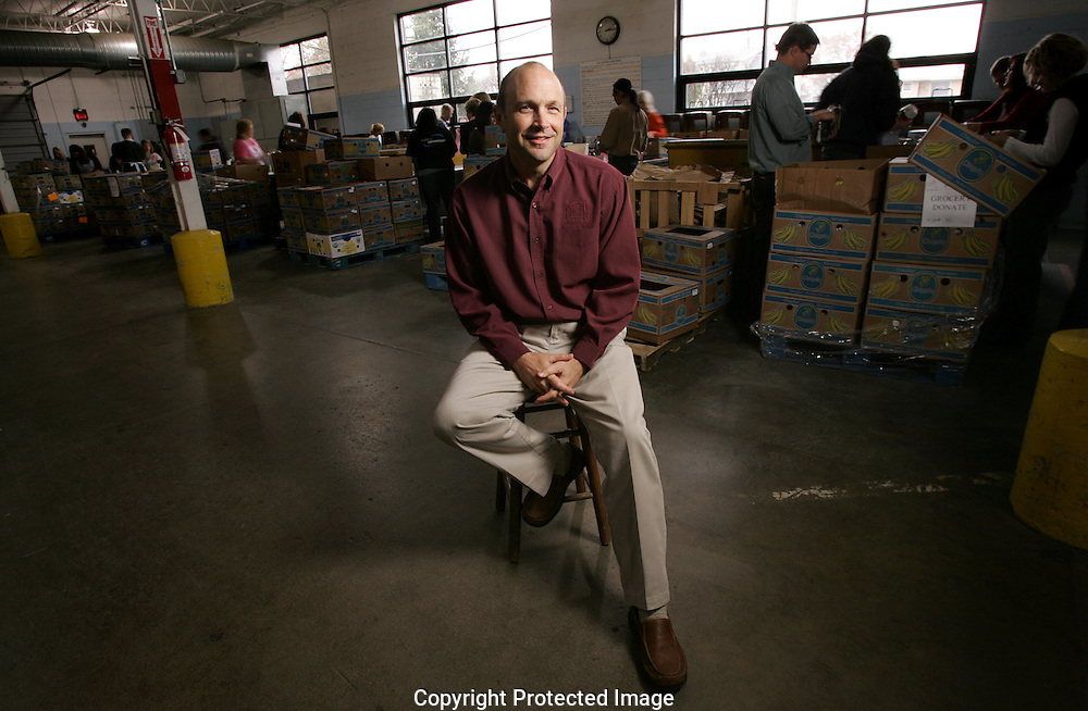 Matthew D. Habash, President & CEO, of the Mid-Ohio Foodbank.
