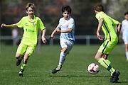 01.04.2017; Zuerich; Fussball Junioren - FCZ Uetliberg FE-14 - FCO Thurgau - Joel Federer (Zuerich)<br /> (Steffen Schmidt/freshfocus)