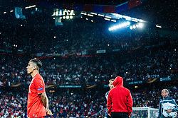 18.05.2016, St. Jakob Park, Basel, SUI, UEFA EL, FC Liverpool vs Sevilla FC, Finale, im Bild entäuscht Roberto Firmino (FC Liverpool) // Roberto Firmino (FC Liverpool) disappointed during the Final Match of the UEFA Europaleague between FC Liverpool and Sevilla FC at the St. Jakob Park in Basel, Switzerland on 2016/05/18. EXPA Pictures © 2016, PhotoCredit: EXPA/ JFK