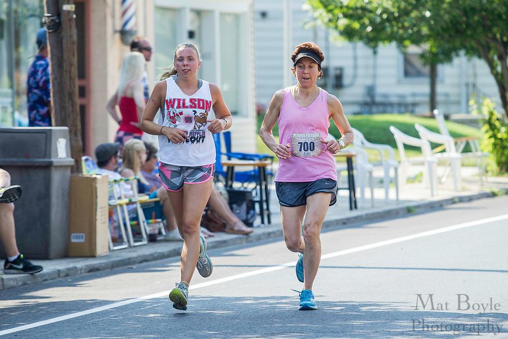 Pitman Freedom Four Miler in Pitman, NJ on Tuesday July 4, 2017. (photo / Mat Boyle)