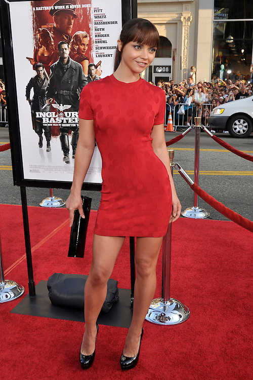 "Christina Ricci  arriving at the ""Inglourious Bastards"" Premiere in Los Angeles, CA 8/10/2009."