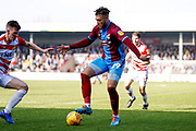 Scunthorpe United forward Kyle Wootton (29) controls the ball during the EFL Sky Bet League 1 match between Scunthorpe United and Doncaster Rovers at Glanford Park, Scunthorpe, England on 23 February 2019.