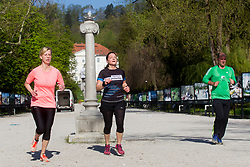Priprave na Ljubljanski maraton 2018, on April 21, 2018 in Ljubljana, Slovenia. Photo by Urban Urbanc / Sportida
