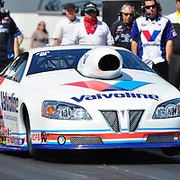 Ron Krisher at Full throttle drag racing series, National Hot Rod Association 2011