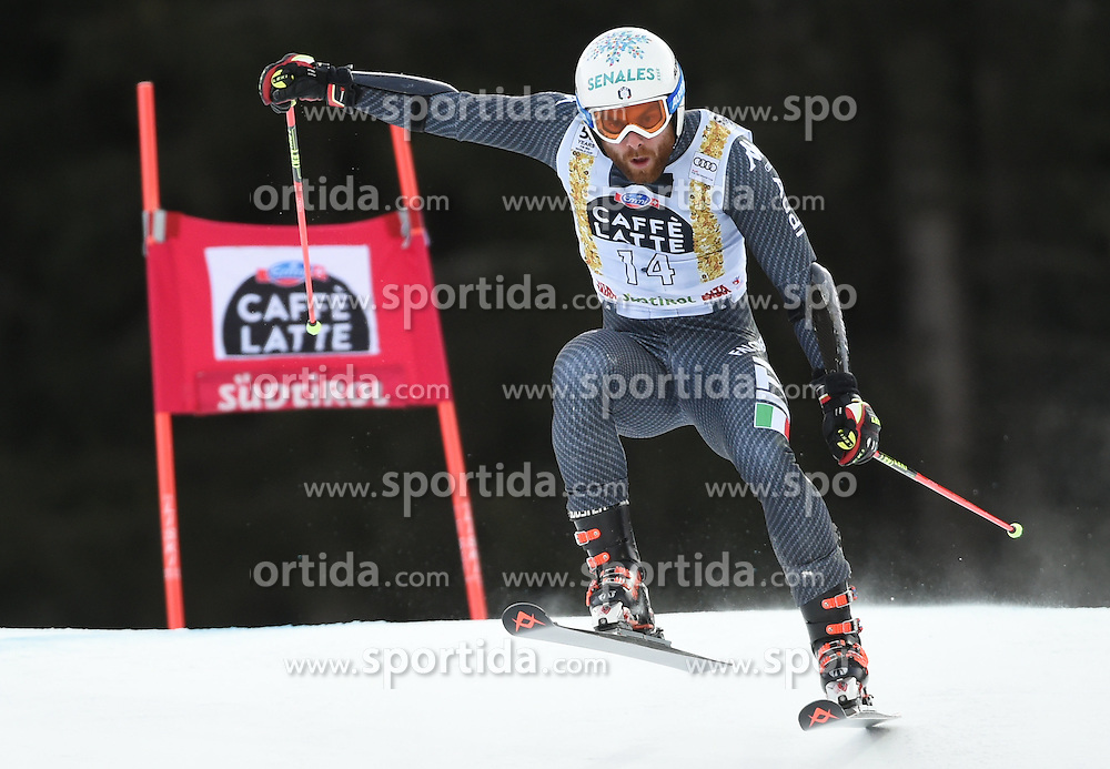 18.12.2016, Grand Risa, La Villa, ITA, FIS Weltcup Ski Alpin, Alta Badia, Riesenslalom, Herren, 1. Lauf, im Bild Riccardo Tonetti (ITA) // in action during 1st run of men's Giant Slalom of FIS ski alpine world cup at the Grand Risa in La Villa, Italy on 2016/12/18. EXPA Pictures © 2016, PhotoCredit: EXPA/ Erich Spiess