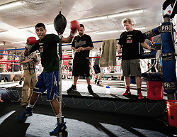 Exclusive Amir Khan shoot for SEEN Sport Magazine at the Wildcard Gym, Los Angeles, USA. 3rd November 2010.