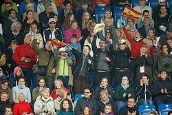 Spanish supporters<br /> FEI European Championships - Aachen 2015<br /> © Hippo Foto - Leanjo de Koster<br /> 16/08/15