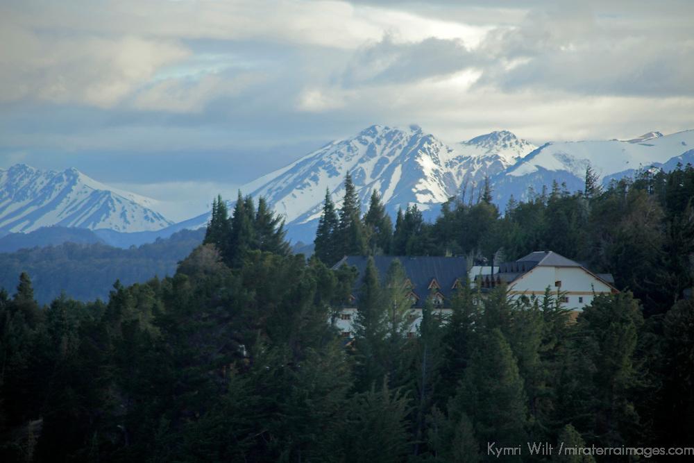 South America, Argentina, Bariloche. Llao Llao resort in Nahuel Huapi National Park.