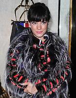 Lily Allen, Fendi - Store Launch Party, New Bond Street, London UK, 01 May 2014, Photo by Brett D. Cove