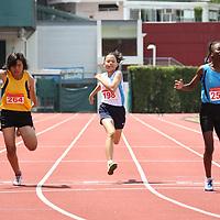B Girls 100m