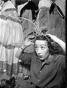 Maureen Potter, with head gear   Maureen Potter & Gaiety Theatre Dublin, Ireland.
