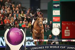 Williams Guy, (GBR), Titus<br /> Longines FEI World Cup<br /> CSIO Leipzig 2016<br /> © Hippo Foto - Stefan Lafrentz