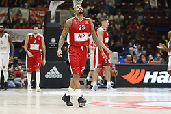 November 17, 2017 - Milan, Milan, Italy - Jordan Theodore (#25 AX Armani Exchange Milan) during a game of Turkish Airlines EuroLeague basketball between  AX Armani Exchange Milan vs Brose Bamberg at Mediolanum Forum, on November 17, 2017 in Milan, Italy. (Credit Image: © Roberto Finizio/NurPhoto via ZUMA Press)