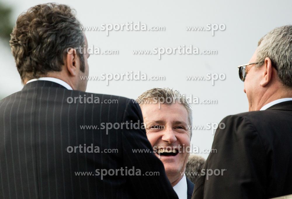 Davor Suker (Croatia) during Official opening of the Slovenian National football centre Brdo (Nacionalni nogometni center Brdo), on May 6, 2016, in Brdo pri Kranju, Slovenia. Photo by Vid Ponikvar / Sportida