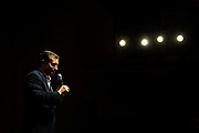 Republican presidential candidate, Sen. Ted Cruz, R-Texas, speaks at a campaign rally at Johnson County Community College in Overland Park, Kan., Wednesday, March. 2, 2016. (AP Photo/Colin E. Braley)
