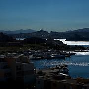 Archipel du Frioul. Pommegues. Ratonneau, If. Parc national des calanques. Marseille