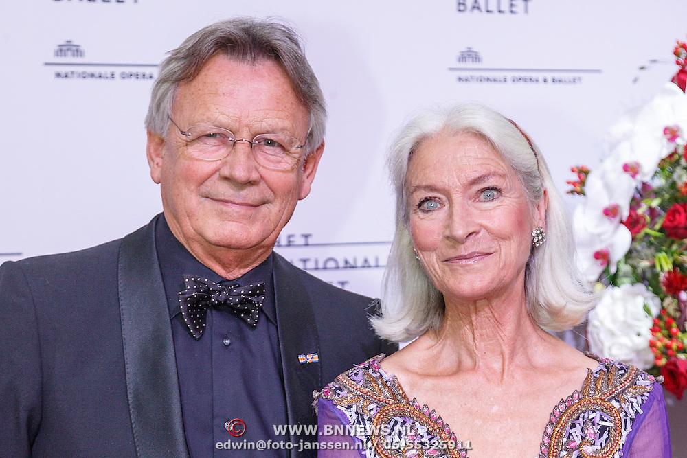 NLD/Amsterdam/20150908 - Inloop Gala 2015 - Nationaal Ballet, Han Ebelaar en Alexandra Radius