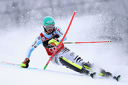 06.01.2015, Sljeme, Zagreb, CRO, FIS Weltcup Ski Alpin, Zagreb, Herren, Slalom, 1. Lauf, im Bild Felix Neureuther (GER) // Felix Neureuther of Germany in action during 1st run of men's Slalom of FIS Ski Alpine Worldcup at the Sljeme in Zagreb, Croatia on 2015/01/06. EXPA Pictures © 2015, PhotoCredit: EXPA/ Pixsell/ Goran Stanzl<br /> <br /> *****ATTENTION - for AUT, SLO, SUI, SWE, ITA, FRA only*****