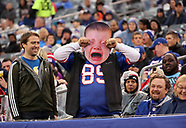Crying baby in the crowd at the New York Giants game - 6 Nov 2017
